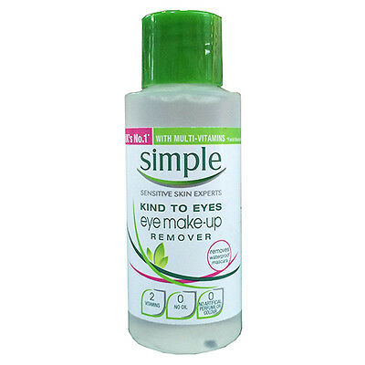 NEW Simple Eye Make Up Remover Conditioning Eye Makeup Remover 50ml