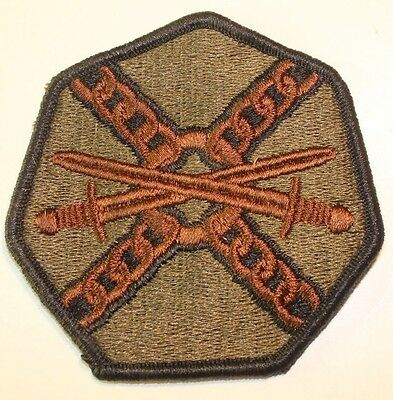 New Dealer Lot of Twenty 104th Infantry Division Patches Sew-On Subdued
