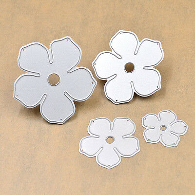 Cutting Dies Lovely Flower Stencils for DIY Srapbook Album Paper Card Diary 4pcs