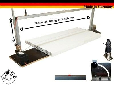 POLYSTRENE Styrofoam Polystrenecutter, Thermo saw Cutter Size XXL 155cm H10302