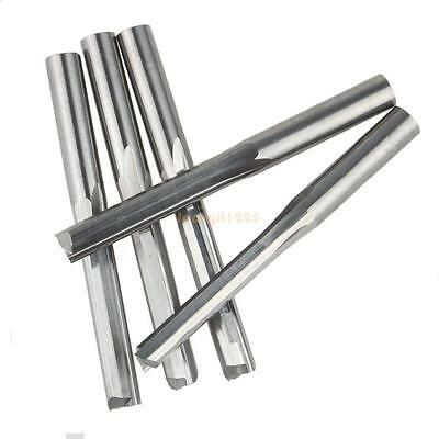 5pcs/lot 6*32MM Two Straight Flute Mills /Wood Cutter Tools ,CNC Router Blade