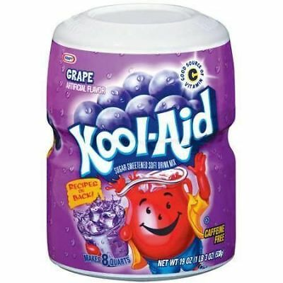 Kool-Aid Grape Drink Mix 538g (Pack of 2)