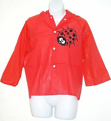 Ladybird Girls' Raincoat Hooded  [ Chest Size: 96cm Approx ] With carry bag