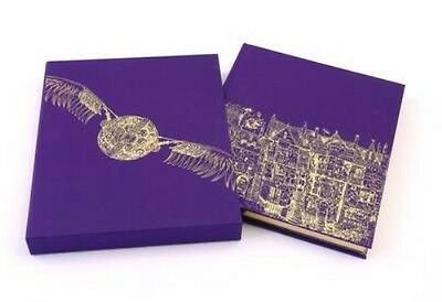 Harry Potter and the Philosopher's Stone Deluxe Illustrated Edition by J.K. Rowl