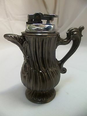 """Too Cool Vintage 4.75"""" Tall TEAPOT LIGHTER Tabletop Style"""