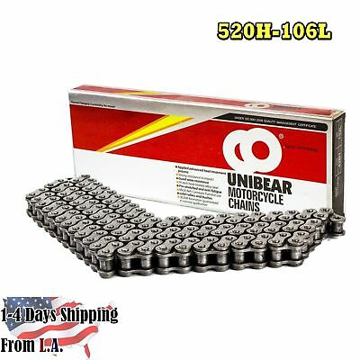 520 Heavy Duty Motorcycle Chain 106 Links with 1 Connecting Link