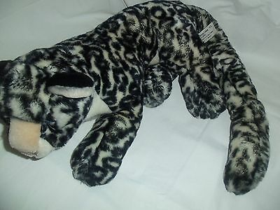 "Fabulous Large 15"" (+Tail) Spotted Leopard Panther by Conservation Collection"