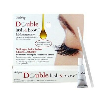 Godefroy Double Lash and Brow - Eyelash & Eyebrow Serum - 0.1oz / 3ml