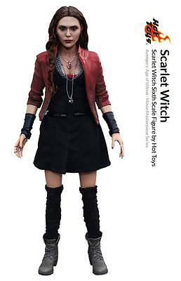 Avengers Age of Ultron Action Figur 1/6 Scarlet Witch MMS301 Hot Toys