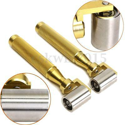 Golden Stainless Steel Handle Wallpaper Seam Roller Wall Paper Painting DIY Tool