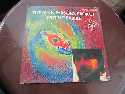 """7"""" - The Alan Parsons Project - Psychobabble"""