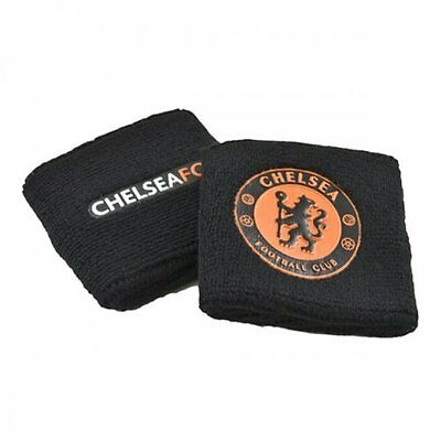 Chelsea FC Wristbands (Black/Orange)