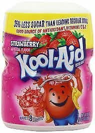 Kool-Aid Strawberry Soft Drink Mix 538g (Pack of 2)