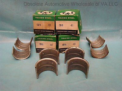 1939 - 45 Ford Truck Passenger 221 91A 91C Connecting Rod Bearing Set 040