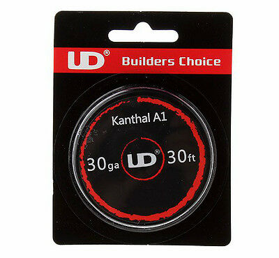 10 Metre Kanthal A1 Resistance Wire & 5 Pack Muji Cotton