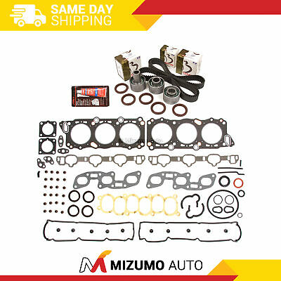 Head Gasket Set Timing Belt Kit Fit 90-97 Infiniti Nissan 300ZX VG30DE VG30DETT
