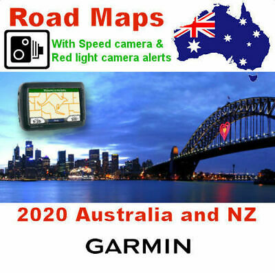 2018 Australia & NZ latest Maps FOR YOUR Garmin Nuvi Streetpilot zumo kenwood