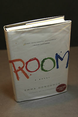 ROOM by Emma Donoghue (2010, Hardcover) SIGNED First Edition