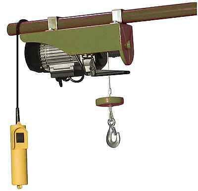 Buffalo Tools Electric Cable Hoist Wired Control Switch 440 lb. Lifting Capacity