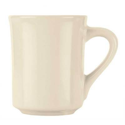World Tableware Inc Tenacity Cream White Mug, 8 1/2 Ounce -- 36 per case.