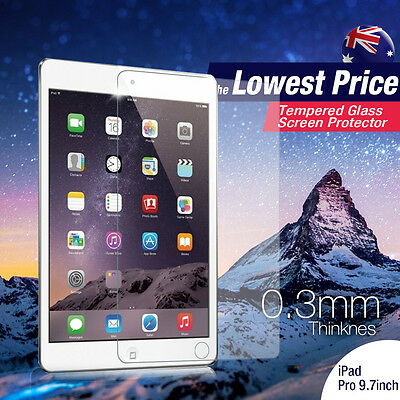 2 X Tempered Glass Screen Protector Film for Apple iPad Pro 9.7 inch