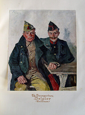 Thomas Baumgartner Belgien Wallone Belgier Weltkrieg Verdun Uniform Entente WK I