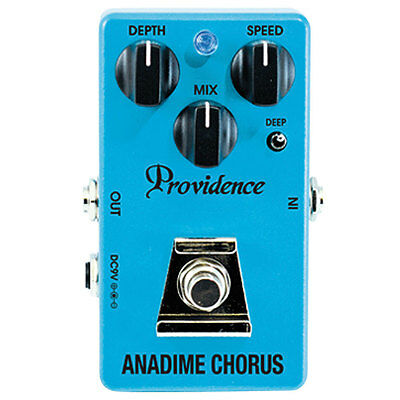 Providence ADC-4 Anadime Analog Chorus Guitar or Bass Effect Pedal - Brand New!