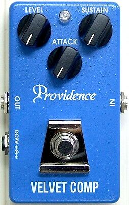 Providence VLC-1 Velvet Comp Compressor Guitar or Bass Effect Pedal - Brand New!