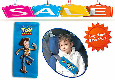 TOY STORY Car Safety Seat Belt Cover Baby Stroller Shoulder Cushion Pads