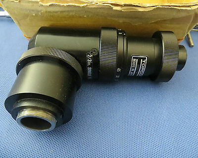Topcon Camera Video Adaptor, OMS Relaylens 2/3in Single Tube
