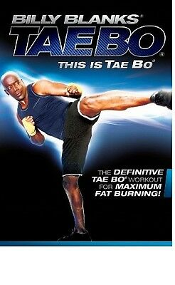 NEW Billy Blanks THIS IS TAE BO Workout DVD + FREE Fitness Bonuses!