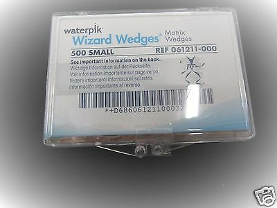 Dental Waterpik Wizard Matrix Wood Wedges 500 Small - 061211-000