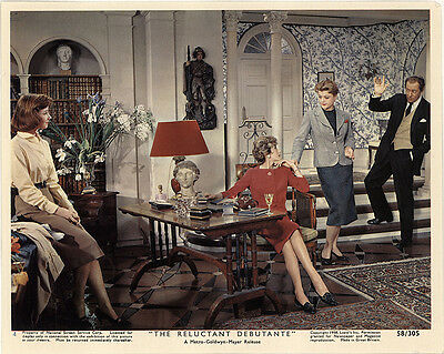 The Reluctant Debutante 1958 Original Movie Poster Rex Harrison Comedy Romance