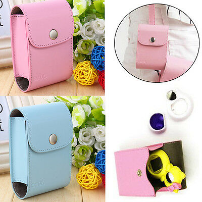 PU Leather Collecting Photo Films & Lens Case Bag For Instax Mini 7s 8 Camera