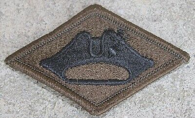 New Dealer Lot of Twenty Vermont National Guard Patches, Sew-On, Subdued