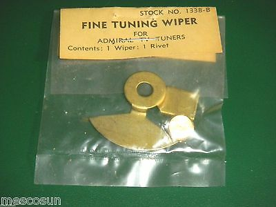 Colman 1338-B Fine Tuning Wiper for Vintage Admiral Black and White TV Tuners