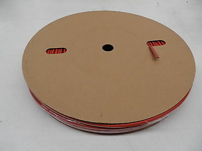 Heat Shrink on a reel 5.0mm shrinks to2.5 mm Colour Red Spool Length 100 metre