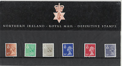 Great Britain 1983 orthern Ireland Royal Mail Definitive Stamps PP04 (GB04PP)