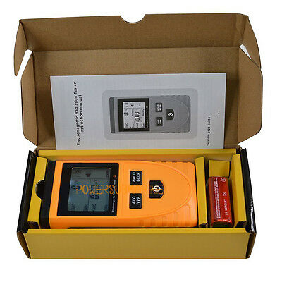 GM3120 Electromagnetic Field Radiation Detector Tester Phone PC Home Equitment