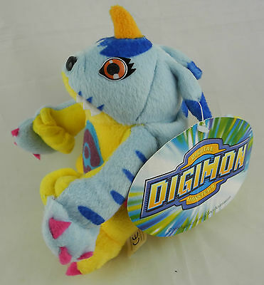 Digimon Stofftier Figur Plüsch Plush Play By Play 2000 - GABUMON 17cm #434