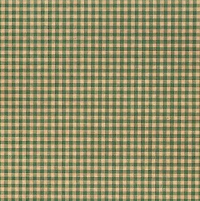 Green Kraft Gingham Check Christmas Xmas Tissue Paper Gift Wrap Wrapping Printed