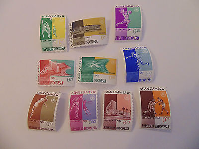 L878 - Collection Of Indonesia Stamps - MH