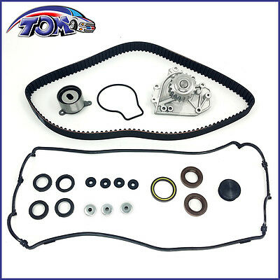 New Timing Belt Kit Water Pump Valve Cover Gasket For Honda Cr-V Acura Integra