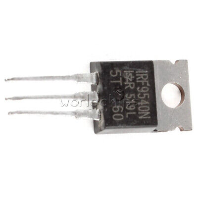10Pcs IRF9540 IRF9540N Power MOSFET P-Channel 23A 100V