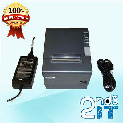 Epson TM-T88IV M129H USB RECEIPT POS THERMAL PRINTER WITH POWER SUPPLY RRANTY