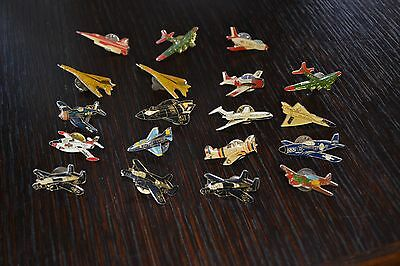 Lot 20 Military Air Plane Pin Collection Collectibles Vintage Metal Rare
