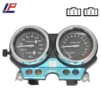 Motorcycle Tachometer Speedometer Gauges Odometer For Honda CB 400 1992-1994