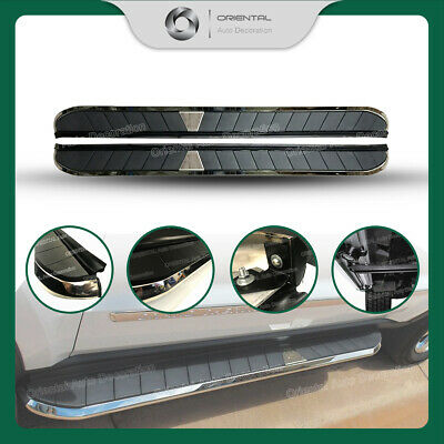 Black Aluminum Side Steps/Running Board For Toyota Hilux 05-13 model (#CYZ)
