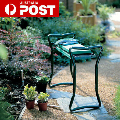 Foldable Garden Kneeler Stool EVA Cushion Seat Gardening Chair Kneeling Pad