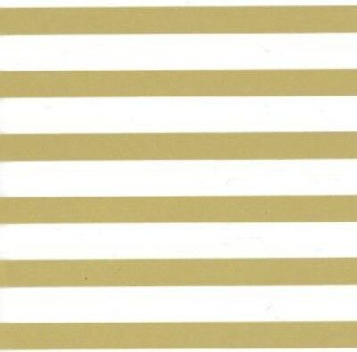 Gold White Christmas Gift Wrap Wrapping Tissue Paper Party Decorations Stripes
